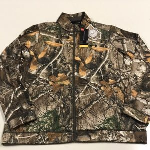 🆕 UNDER ARMOUR Mens Full Zip Camouflage Coat